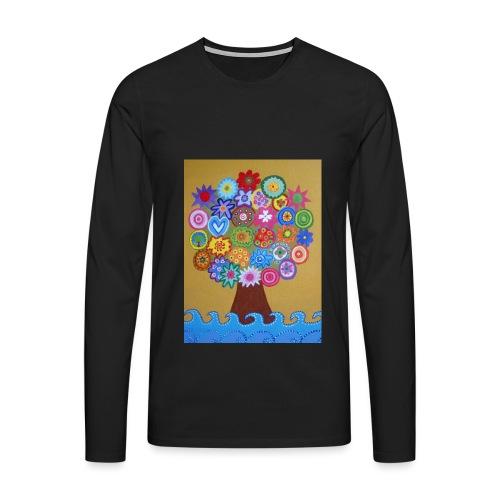 arbol de la vida - Camiseta de manga larga premium hombre