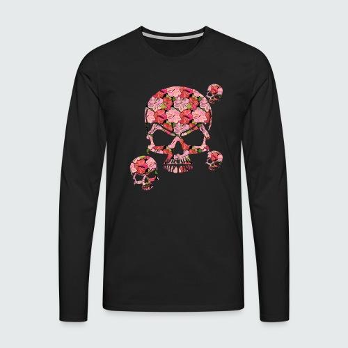 skullMANIA - Maglietta Premium a manica lunga da uomo