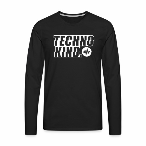 Techno Kind V2 - Männer Premium Langarmshirt