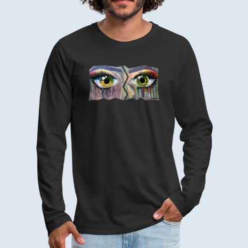 Open Eyes Berlin PopArt ickeshop BachBilder - Männer Premium Langarmshirt