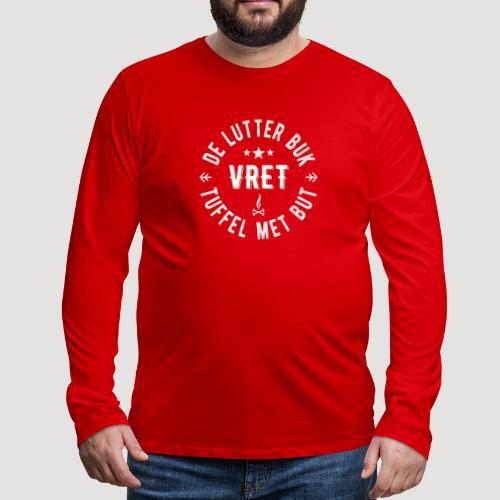 De Lutter buk - Mannen Premium shirt met lange mouwen