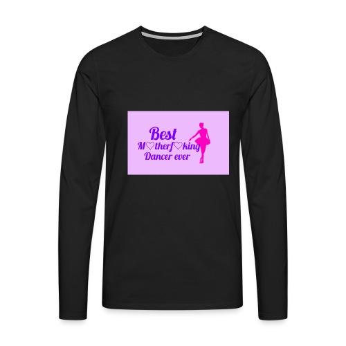 Logo_1483187276810 - Miesten premium pitkähihainen t-paita