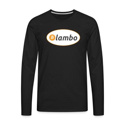 Lambo - option 1 - Men's Premium Longsleeve Shirt