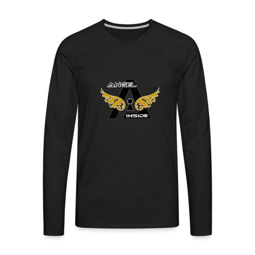 ANGEL INSIDE2-01 - Maglietta Premium a manica lunga da uomo