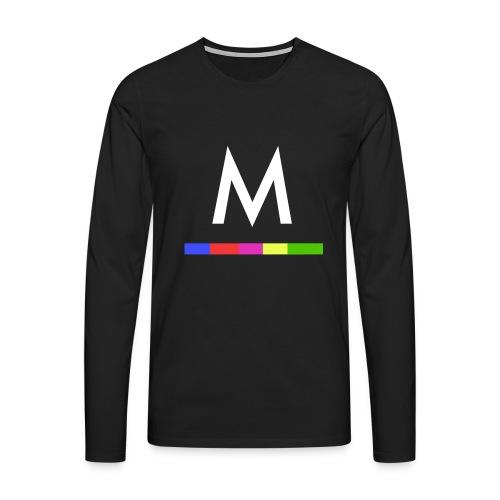 Metro - Camiseta de manga larga premium hombre