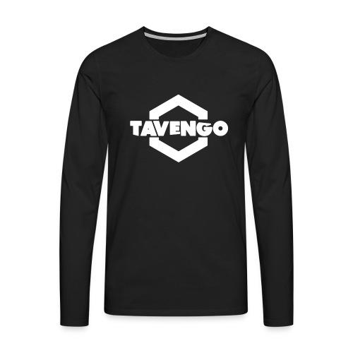 Tavengo Logo - Männer Premium Langarmshirt