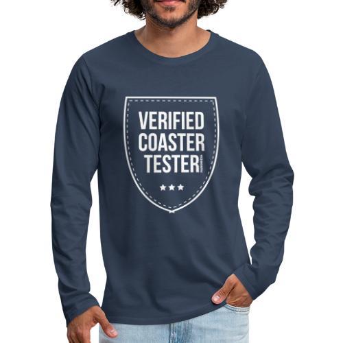 Badge CoasterTester vérifié - T-shirt manches longues Premium Homme