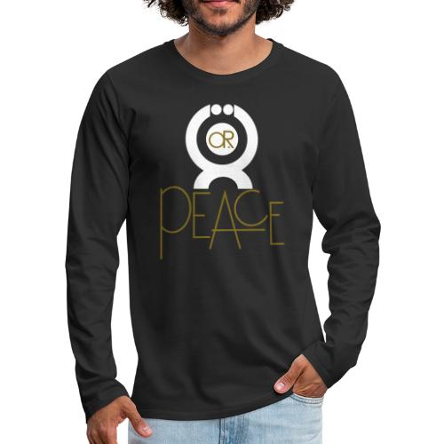 O.ne R.eligion O.R Peace - T-shirt manches longues Premium Homme