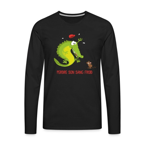 AlliGator - T-shirt manches longues Premium Homme