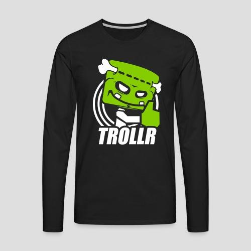 TROLLR Like - T-shirt manches longues Premium Homme