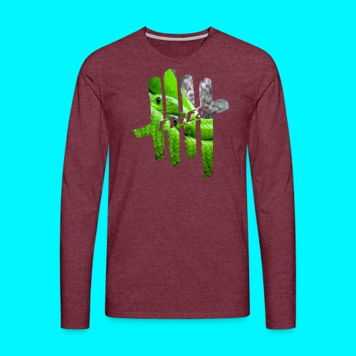 FIVES green snakes - T-shirt manches longues Premium Homme