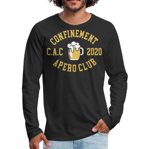 CONFINEMENT APERO CLUB - T-shirt manches longues Premium Homme