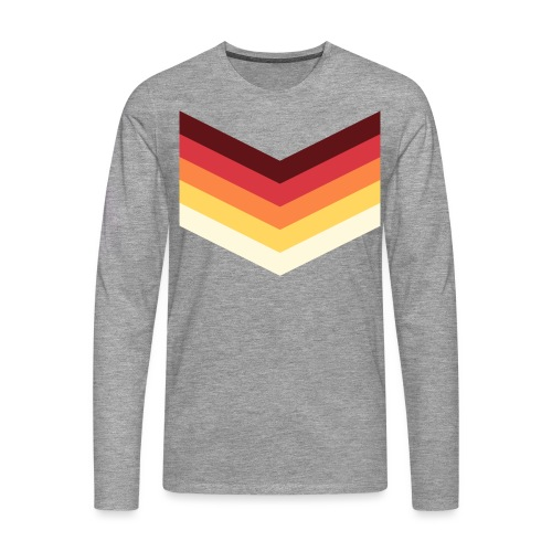 VintageSport - T-shirt manches longues Premium Homme