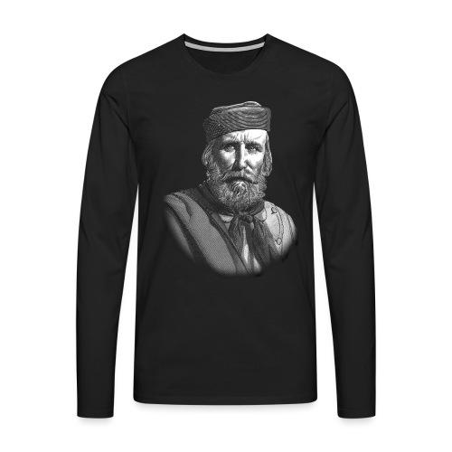 TSHIRT GARIBALDI - Maglietta Premium a manica lunga da uomo
