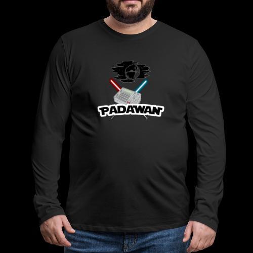 Padawan Blanc - T-shirt manches longues Premium Homme