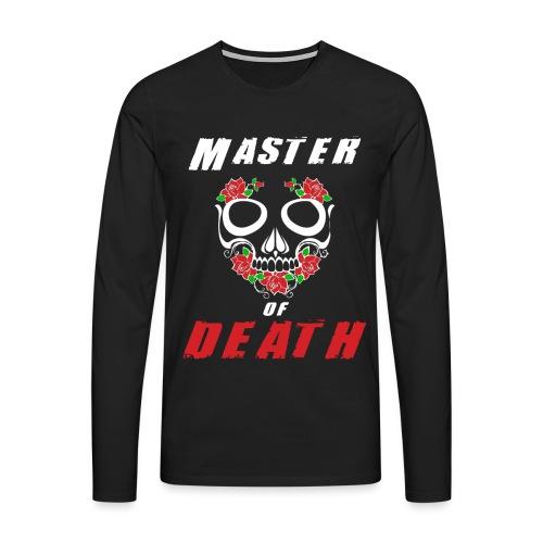 Master of death - white - Koszulka męska Premium z długim rękawem