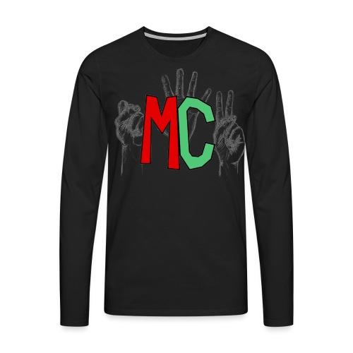 Logo vuoto iMorracinese - Maglietta Premium a manica lunga da uomo