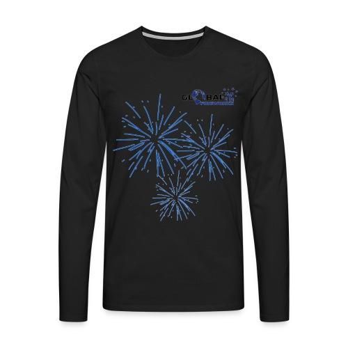 Global Fireworks Pyro - Männer Premium Langarmshirt