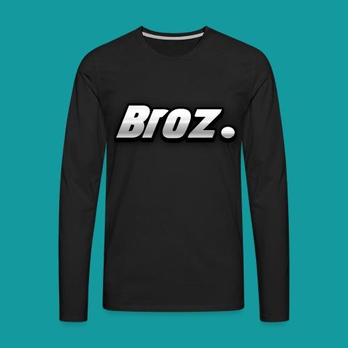 Broz. - Mannen Premium shirt met lange mouwen
