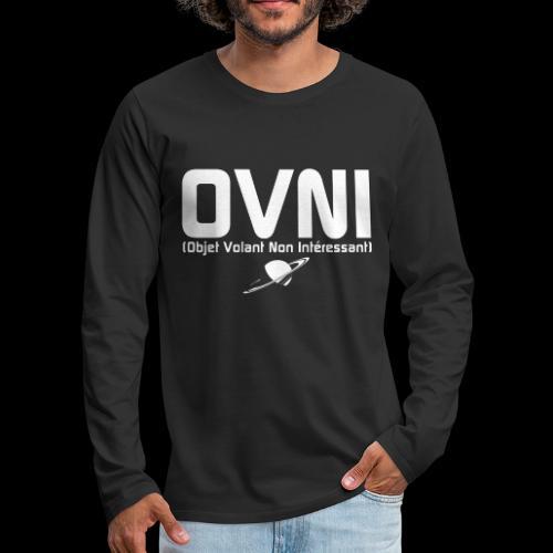 Objet Volant Non Intéressant - T-shirt manches longues Premium Homme