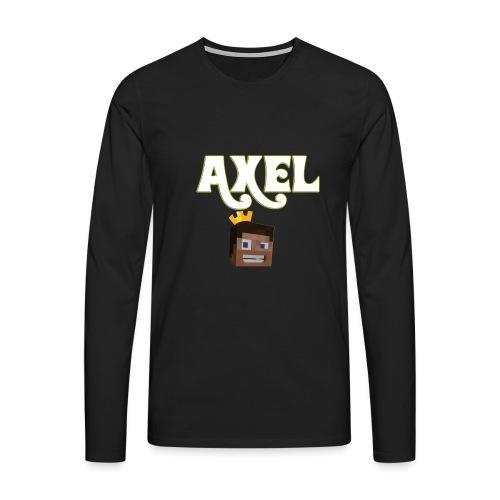Axel Gam3r - Maglietta Premium a manica lunga da uomo