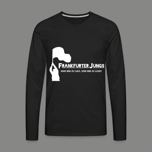 frankfurter_jungs - Männer Premium Langarmshirt