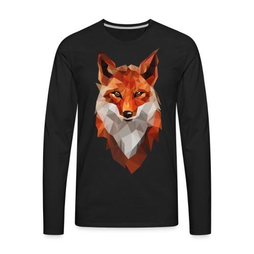 RENARD - MINIMALISTE - T-shirt manches longues Premium Homme