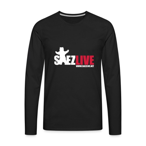 OursLive (version light) - T-shirt manches longues Premium Homme