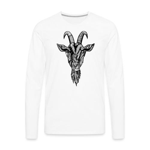 Goat - Premium langermet T-skjorte for menn