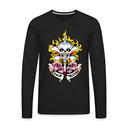 Dead or Alive - Tattoo Design - T-shirt manches longues Premium Homme