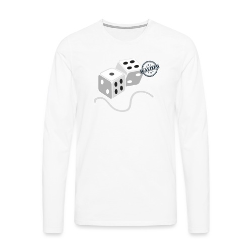 Dice - Symbols of Happiness - Men's Premium Longsleeve Shirt