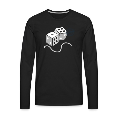 Dice - Symbols of Happiness - Men's Premium Longsleeve Shirt