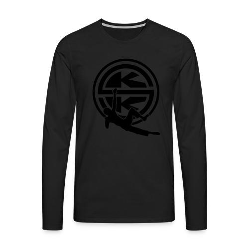 SKK_shield - Långärmad premium-T-shirt herr