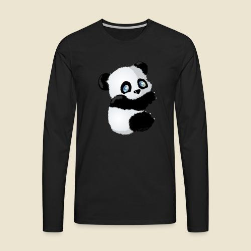 Bébé Panda - T-shirt manches longues Premium Homme