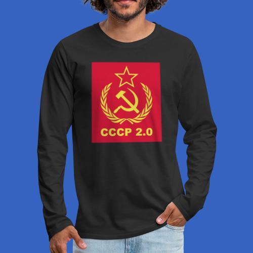 2.0 - Männer Premium Langarmshirt
