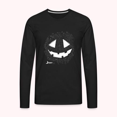 PUMPKIN FACE - 🍂FALL COLLECTION by DEBBY🍁 - Maglietta Premium a manica lunga da uomo
