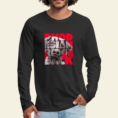 NASSU Rhode 3 - Miesten premium pitkähihainen t-paita
