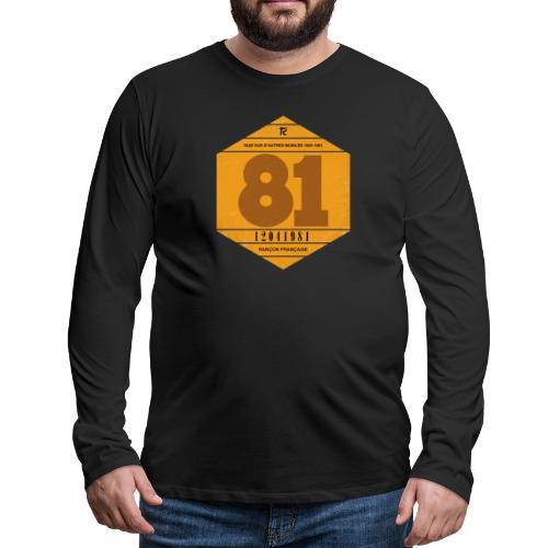 Vignette automobile 1981 - T-shirt manches longues Premium Homme