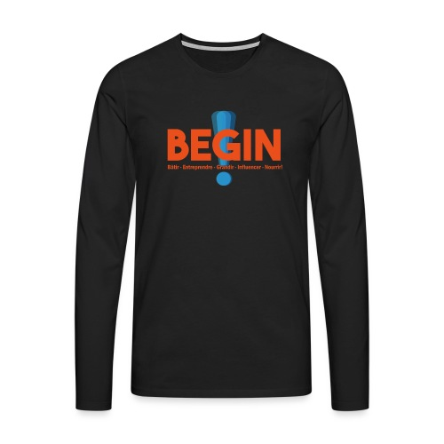 the begin project - T-shirt manches longues Premium Homme