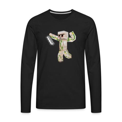 Starka GolemGamingYT - Långärmad premium-T-shirt herr