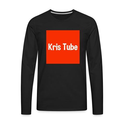 Kristube - Männer Premium Langarmshirt