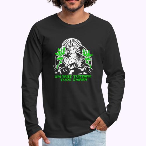 White Tara - Mannen Premium shirt met lange mouwen