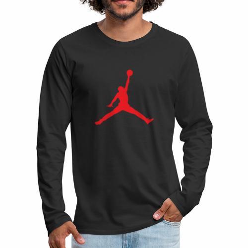 Méchant basket-ball - T-shirt manches longues Premium Homme