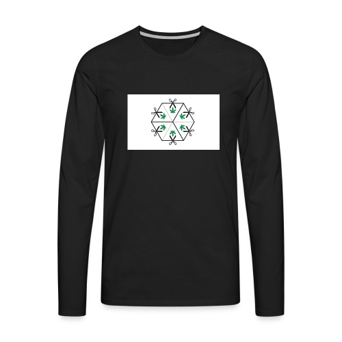 HighCube - Maglietta Premium a manica lunga da uomo
