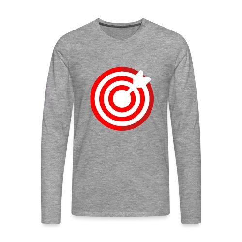 dartboard - Männer Premium Langarmshirt