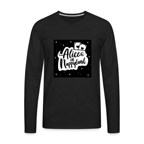 Alice in Nappyland 1 - Men's Premium Longsleeve Shirt