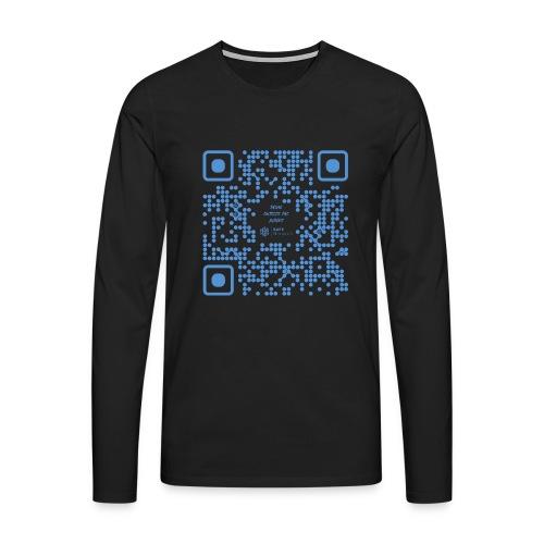 QR The New Internet Shouldn t Be Blockchain Based - Men's Premium Longsleeve Shirt