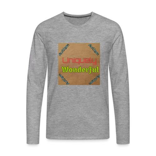 Autism statement - Men's Premium Longsleeve Shirt