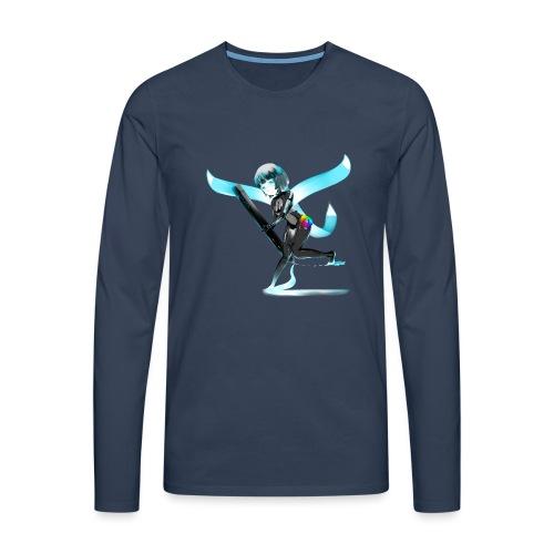 Huion Character O.C. - Maglietta Premium a manica lunga da uomo