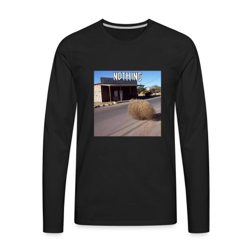 NOTHING - T-shirt manches longues Premium Homme